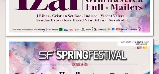 """Alicante Spring Festival está muy próximo """"23 de abril"""" en el puerto de Alicante."""