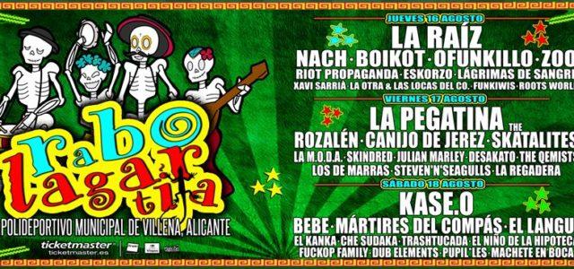 3 meses para el Rabolagartija Festival