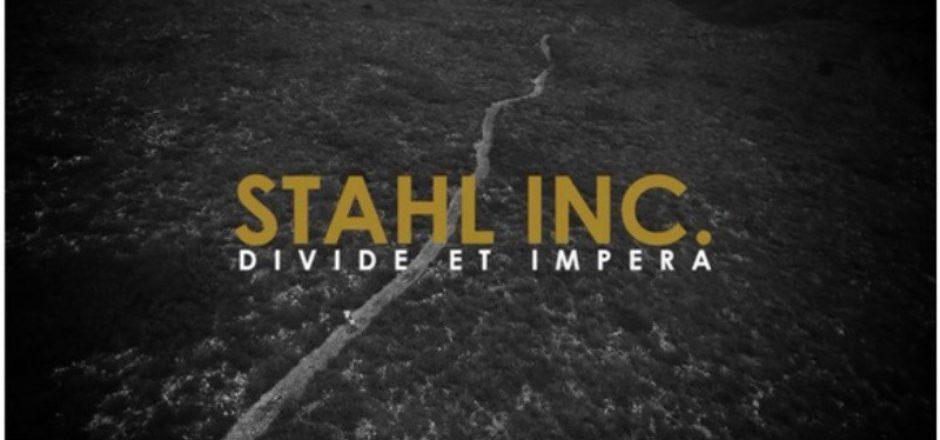 Stahl Inc. su nuevo trabajo se llama Vol.1