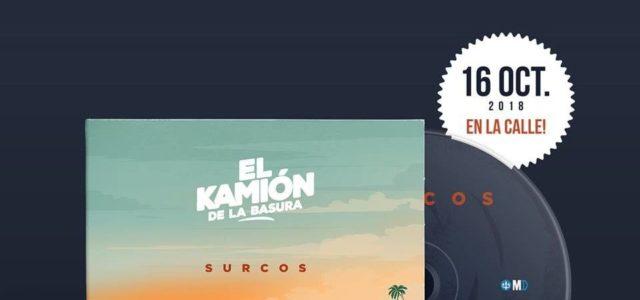 El Kamión de la Basura presenta Surcos, su nuevo EP que se publicará el 16 de Octubre.