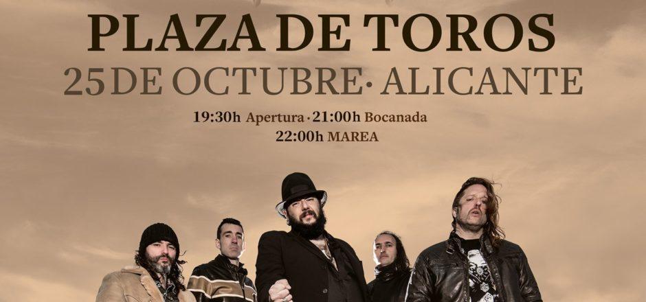 marea presenta El azogue en Alicante
