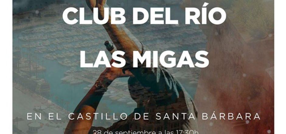 Amparanoia, Club del Río y Las Migas se suben al Castillo de Santa Bárbara.