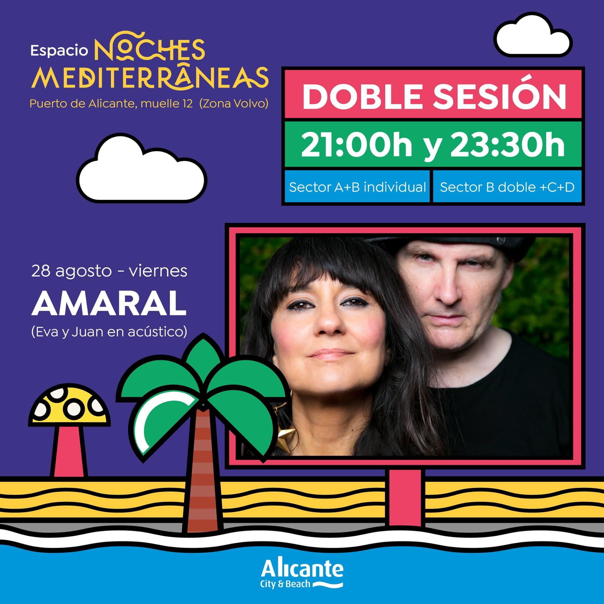 Amaral en concierto acústico en Alicante