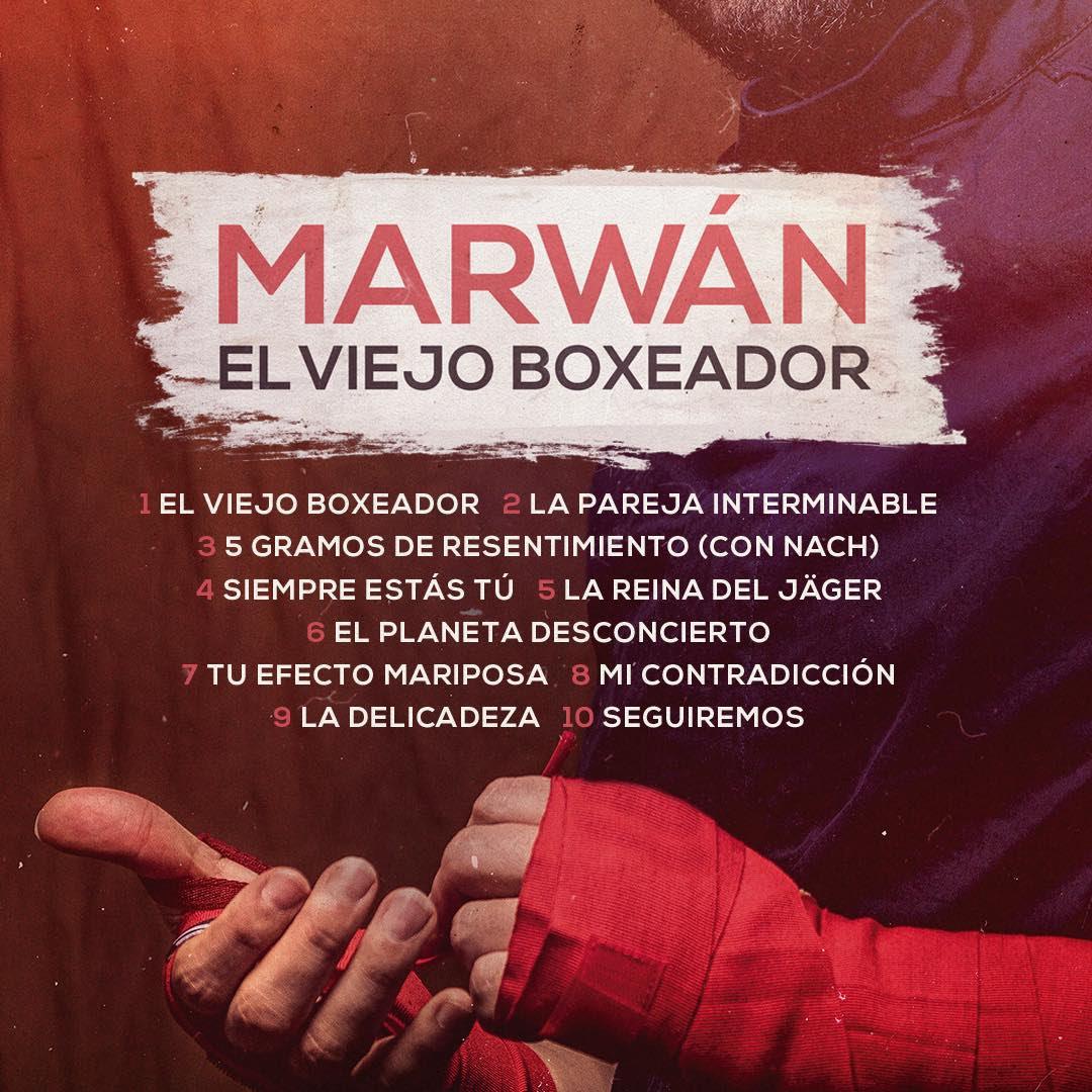 El último disco de Marwan, El viejo boxeador