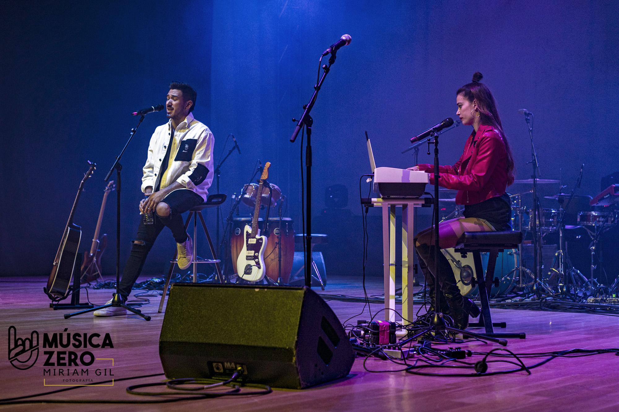 Bruno Alves y Sandra Groove concierto en Alicante