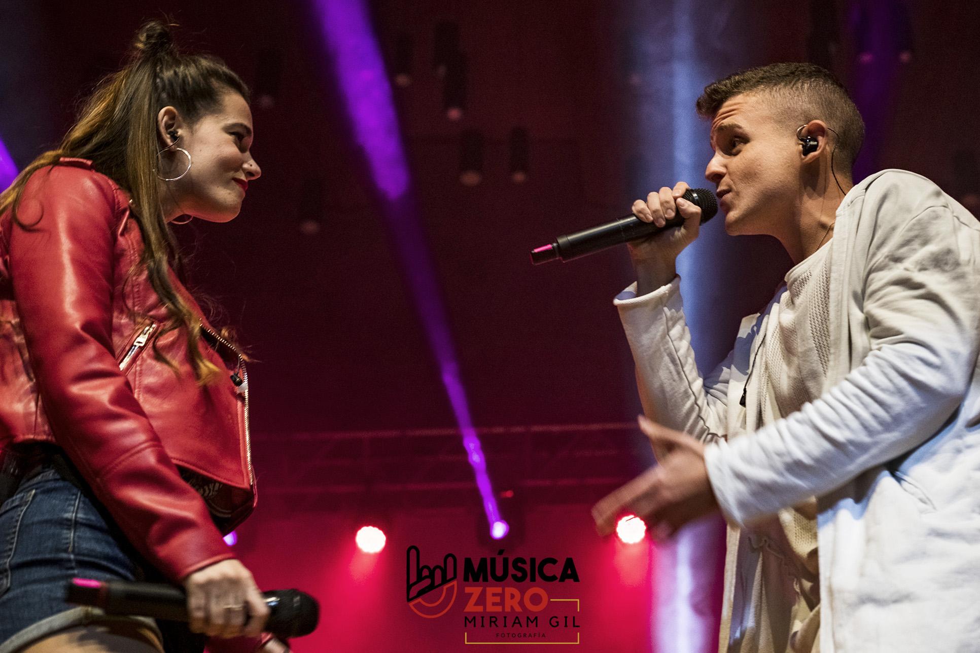 Arkano y Sandra Groove concierto en Alicante